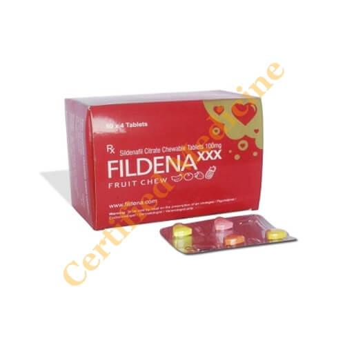 Fildena Chewable Tablet