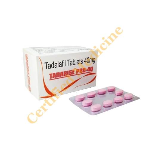 Tadarise Pro 40 Mg